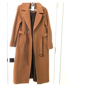 Women's Size M Soia and Kyo Floor-Length Coat